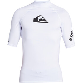 Quiksilver All Time Camiseta Manga Corta Hombre, white